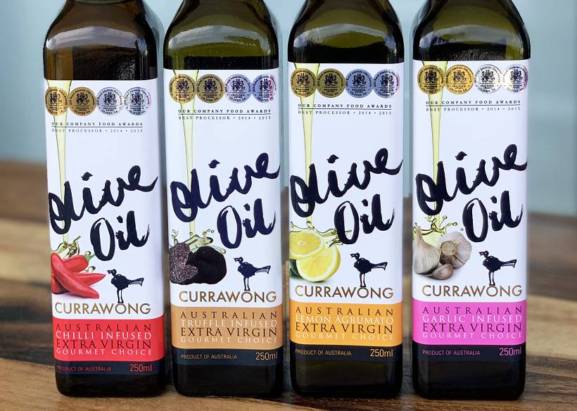 Currawong Olive Oil