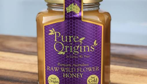 Pure Origins Raw Wild Flower Honey