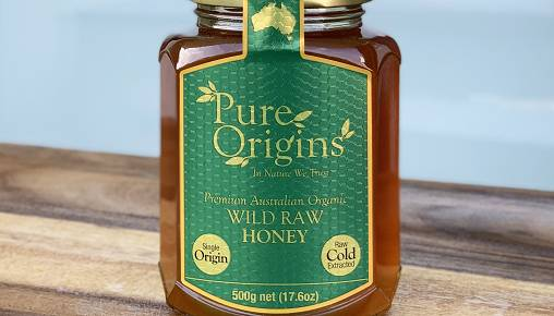 Pure Origins Wild Raw Honey